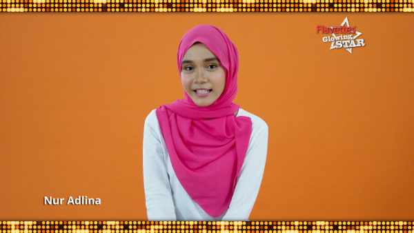 Flavettes Glowing Star : Nur Adlina