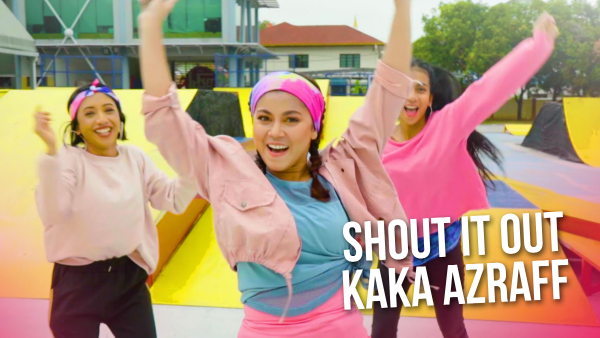 MV OST #GolGincu2: Kaka Azraff - Shout It Out