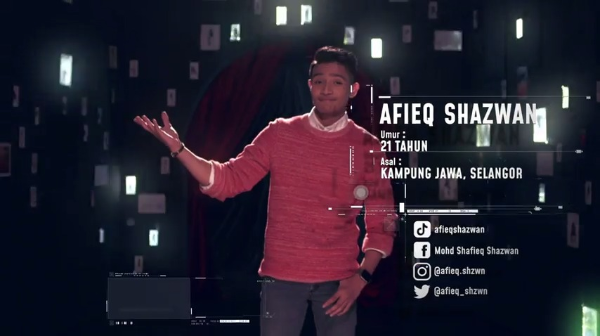 Afieq Syazwan – Big Stage