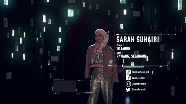 Sarah Suhairi – Big Stage