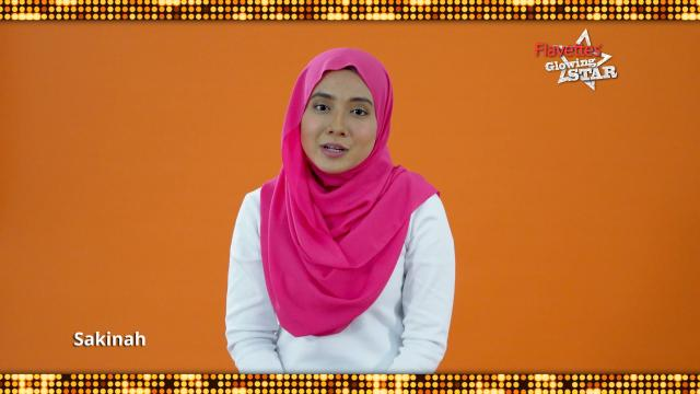 Flavettes Glowing Star : Sakinah