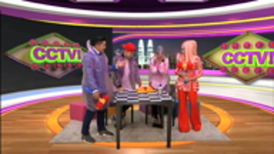 CCTV 007: AMYRA ROSLI MAIN TIPU GAME WHIP CREAM?