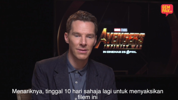 Marvel Studio's Avengers: Infinity War : The Interview (Benedict Cummerbatch, Karen Gillen, Joe Russo dan Trinh Tran)