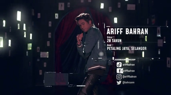 Ariff Bahran –Big Stage