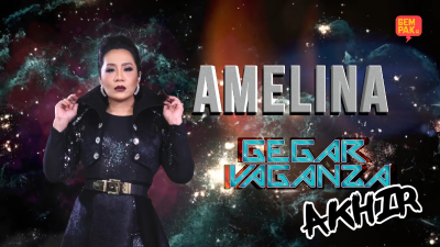 Konsert Gegar Vaganza 2018 ( Minggu Akhir ) : Amelina ft Bob Yusof - The Power Of Love