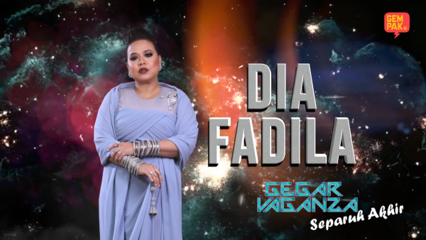 Konsert Gegar Vaganza 2018 ( Minggu 7 ) : Dia Fadila - I Don't Want To Miss A Thing