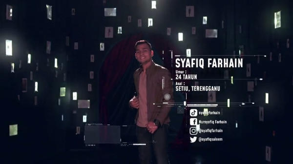 Syafiq Farhain –Big Stage