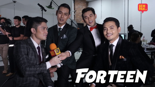 Gegar Vaganza Close Up - Forteen