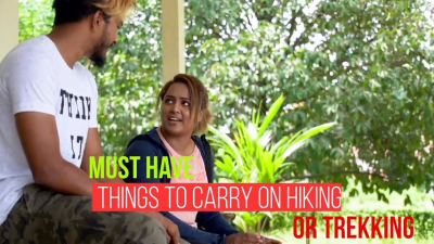 KL to KK: What to Pack for Hiking/Trekking?