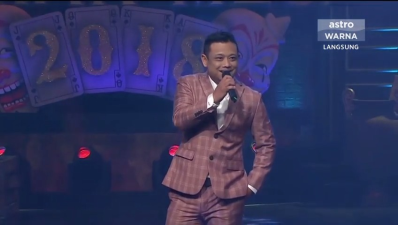 Maharaja Lawak Mega 2018 - Hilmy Ashley - Minggu 1
