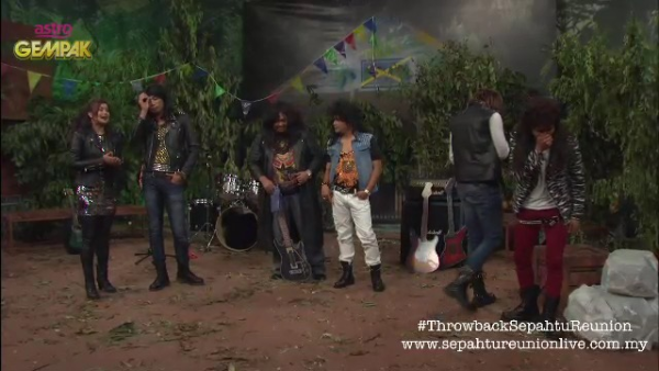 Throwback #SepahtuReunion [eps13] : Geng Rock Kapak
