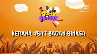 Bocey and Friends - Minggu 2 - Part 1