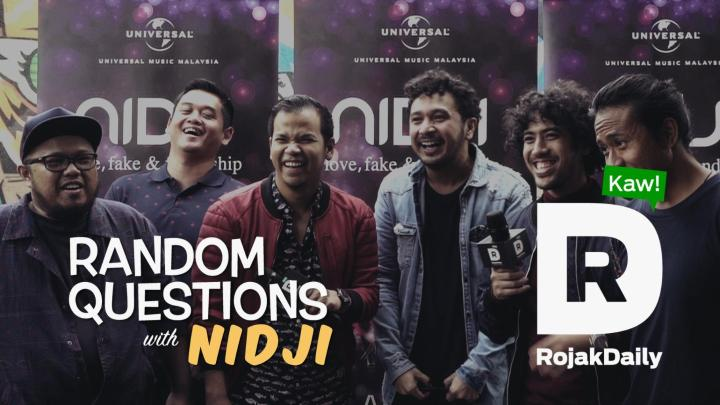 Random Questions With... Nidji