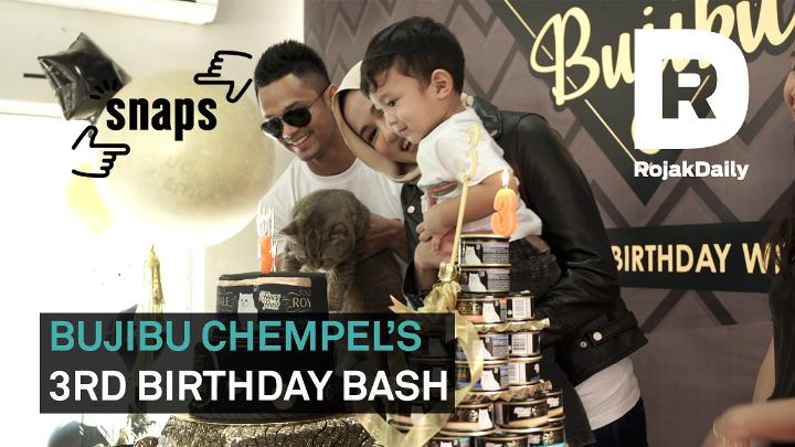 Snaps - Bujibu Chempel's Third Birthday Party