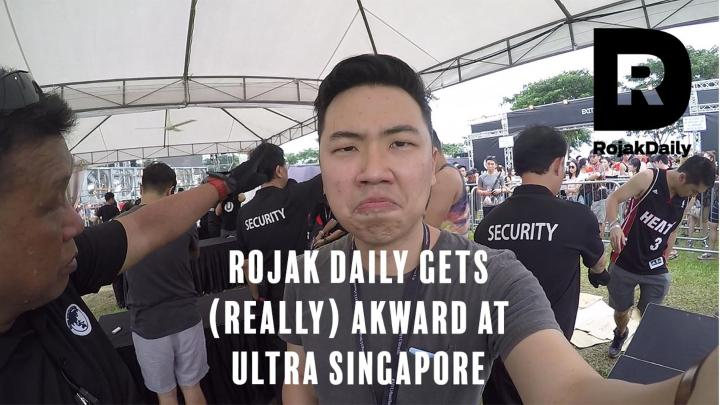 RD Gets Awkward at - Ultra Singapore 2017