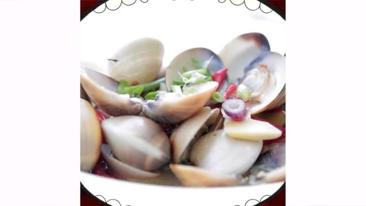 Makans: Steamed Lala (Clams) With Rice Wine