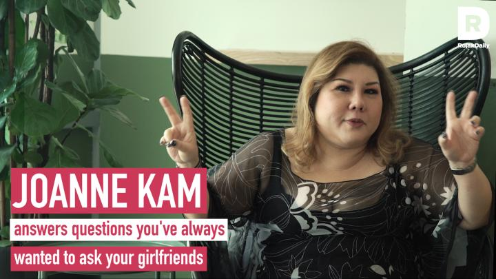 Joanne Kam Answers Questions You've Always Wanted To Ask Your Girlfriends