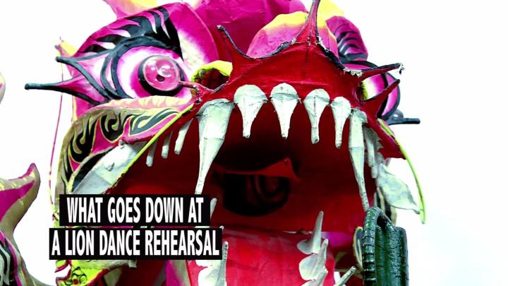 What Goes Down At A Lion Dance Rehearsal
