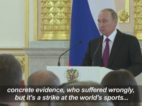 Rio Olympics Damaged By Absence Of Russian Stars Says Vladimir Putin Astro Awani