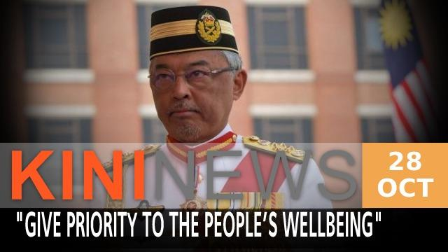 The Yang di-Pertuan Agong has advised all MPs to support the Budget 2021 for the wellbeing of the people and to heal the economy following the Covid-19 pandemic.  The monarch also reiterated his call for MPs to put an end to political bickering.  Meanwhile, the Pakatan Harapan presidential council will be meeting tomorrow and is expected to discuss their MPs' stance on the budget.