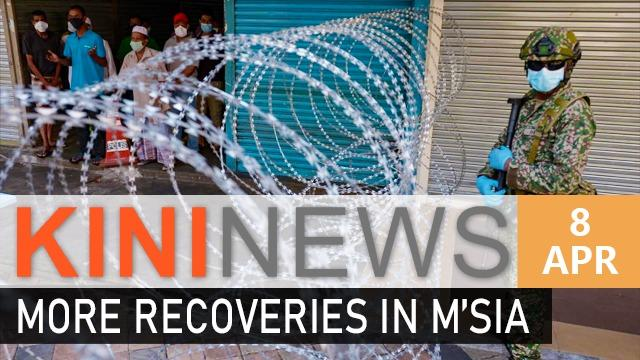 #KiniNews: Malaysia reports more recoveries than new cases | Astro Awani