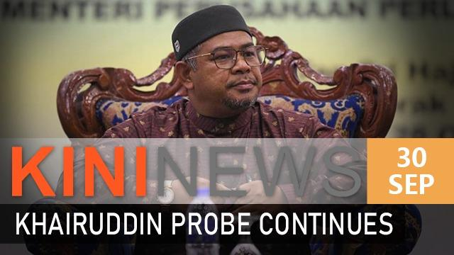 #KiniNews: AGC seeks more details from police on Khairuddin case