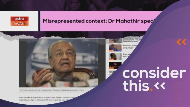 Consider This: Dr M's Tweet (Part 1) - Supporters, Critics & Collateral Damage