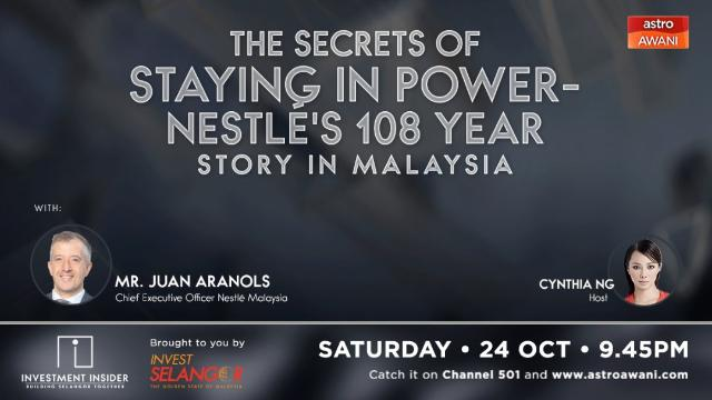 The Secret of Staying in Power - Nestlé's 108 Year Story In Malaysia