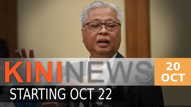 #KiniNews: Management, supervisory staff in CMCO areas ordered to work from home