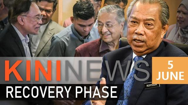 #KiniNews: PM announces recovery plan, Dr M has no problem with Anwar   Astro Awani