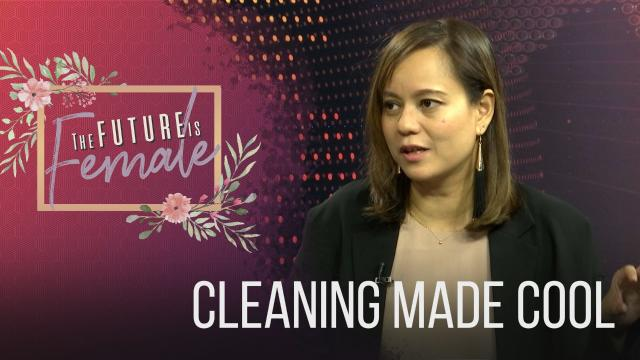 The Future is Female: Cleaning Made Cool
