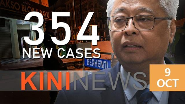 #KiniNews: 354 new cases, weddings in CMCO areas allowed02020