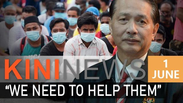 #KiniNews: Don't discriminate against foreigners, help them, says Dr Noor Hisham | Astro Awani