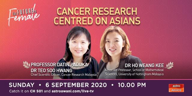The Future is Female: Ensuring Asians Are Not Left Out From Cancer Research