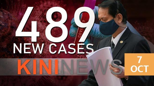 #KiniNews | Covid-19: 489 new cases, active cases at all time high