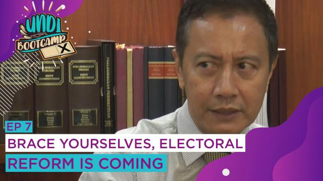 #UNDIBootcamp: Brace yourselves, electoral reform is coming